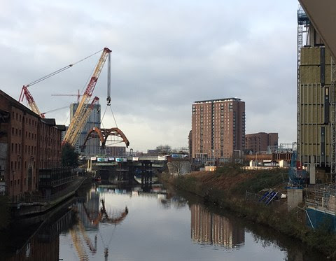 Centrepiece of Great North Rail Project takes its place