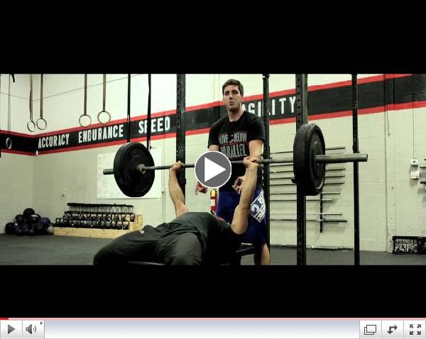 CrossFit CityPlace - Bench Press (Workout Tip)