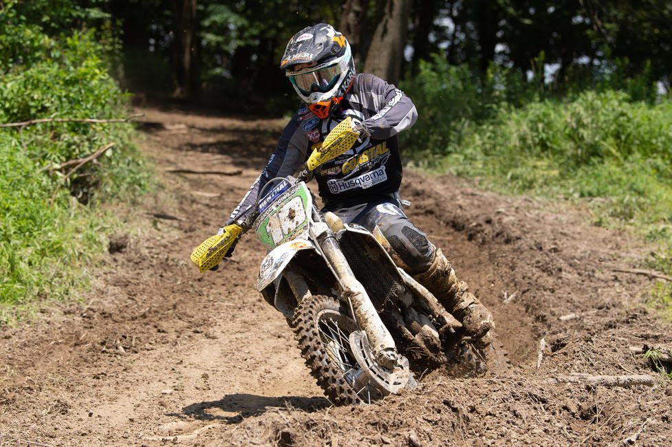 Craig Delong, who hails from Eastern Pennsylvania, came through second in the XC2 250 Pro class.