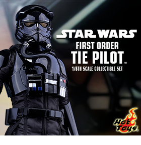 1/6 SCALE FIRST ORDER TIE FIGHTER PILOT