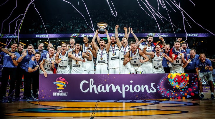 Goran Dragic Led Slovenia to its first FIBA EuroBasket Championship Win