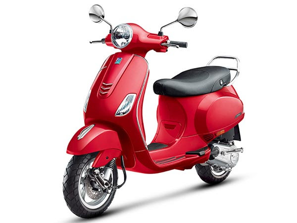 Image result for vespa red