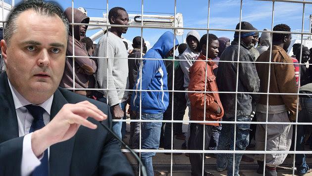 Doskozils Plan: Keine Asylanträge mehr in Europa (Bild: APA, AFP)