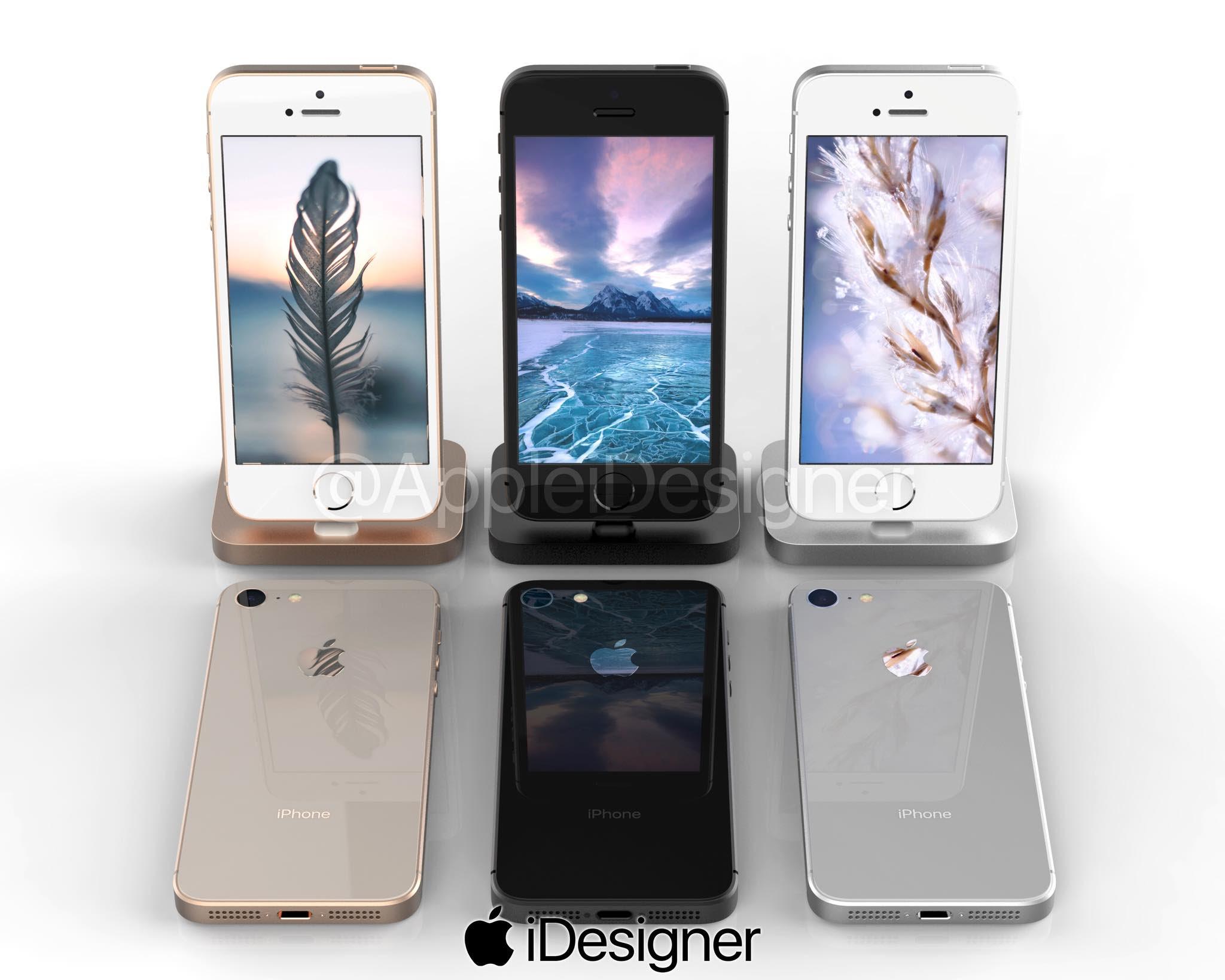 ลือ] iPhone SE 2 อาจใช้วัสดุฝาหลังเป็นกระจก รองรับชาร์จไร้สาย (เหมือน iPhone 8)