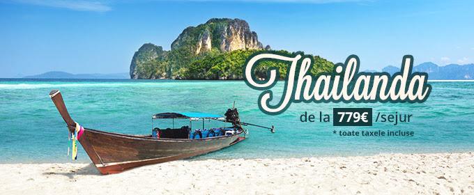 Thailanda de la 779 euro/sejur