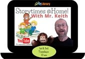 Storytimes @Home with Mr. Keith
