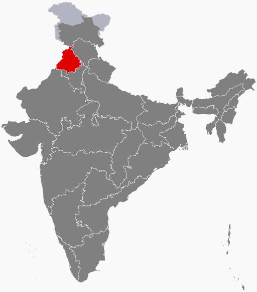 Punjab, India. (Wikipedia)