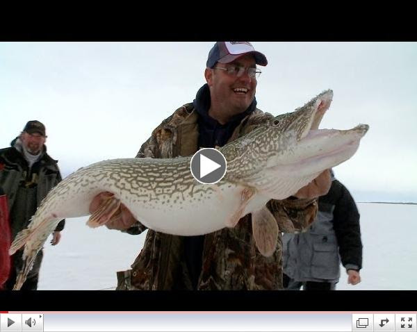 Babe Winkelman's Good Fishing - Icing On The Pike 2014 Ep. 1