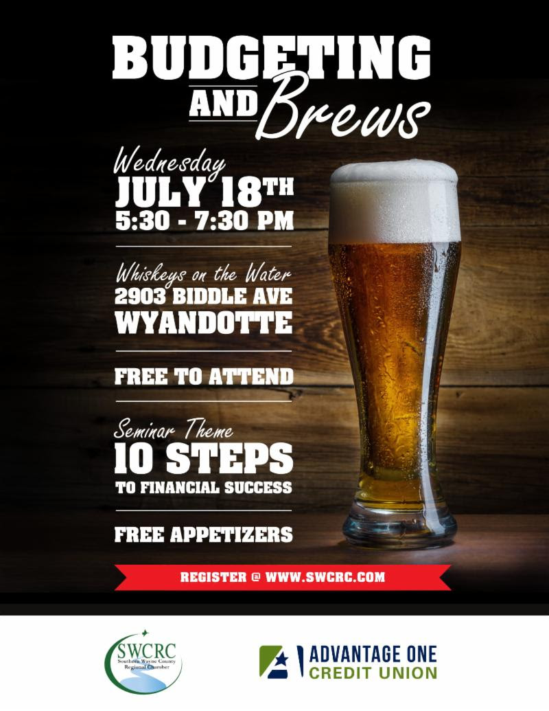 Budgeting and Brews @ Whiskeys on the Water | Wyandotte | Michigan | United States