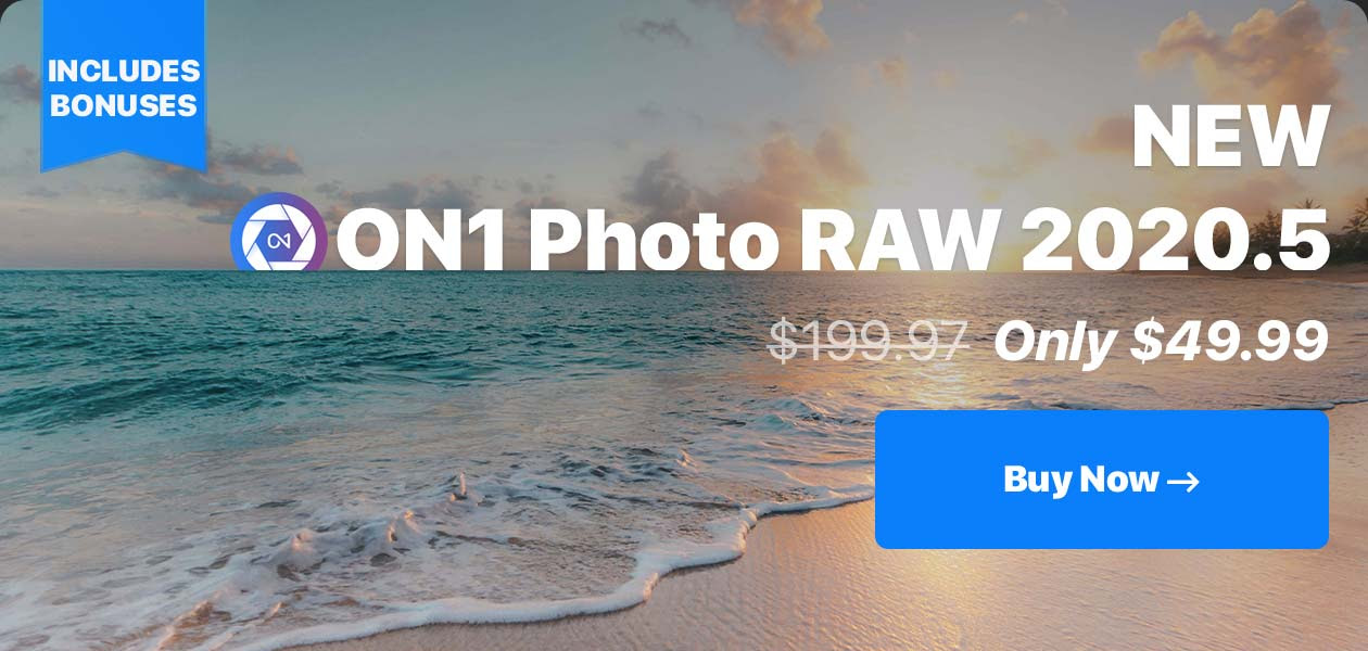 ON1 Photo RAW 2020.5 bundle