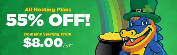 HostGator St. Patty's Day Sale