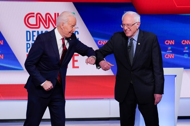 Joe Biden is pursuing the same socialist fantasies just like Bernie Sanders did.
