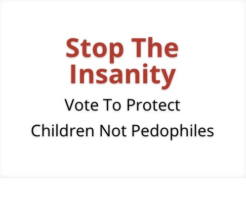 1 in 5 Children Sexually Abused. You'll Be Shocked to Read Which Politician Wants to Keep it That Way. Photos.
