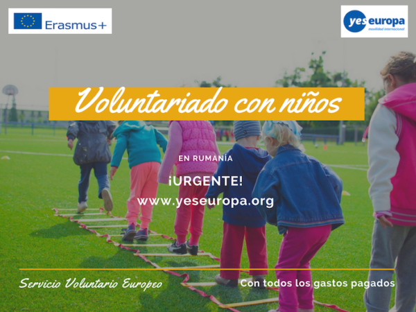 Voluntariado en RUmania con niños