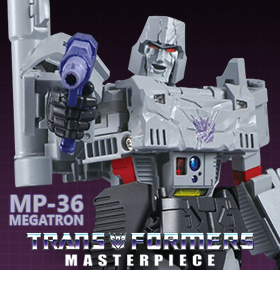 MP-36 MASTERPIECE MEGATRON WITH ORANGE BARREL PLUG