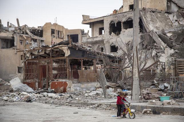 Un barrio de Raqqa, Siria, totalmente destruido por la guerra. Foto: AI