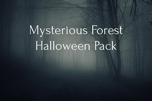 Mysterious forest Halloween Pack