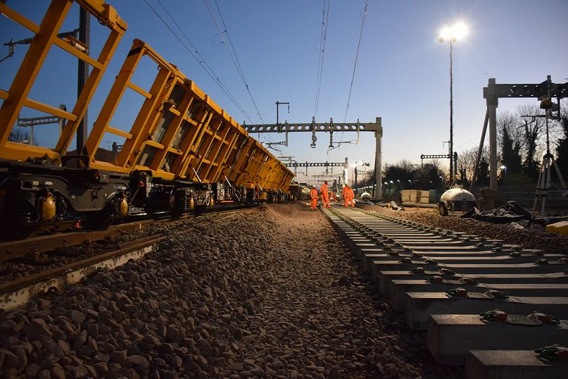 Network Rail announces preferred bidders for final £1.5bn track work contracts