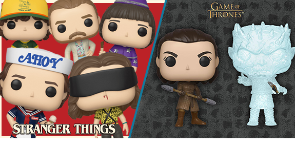 NEW POP!, FIVE STAR, ROCK CANDY, MINIS, PLUSH, & MORE