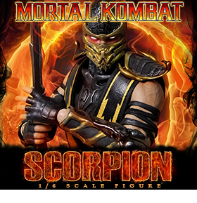 1/6 MORTAL KOMBAT SCORPION