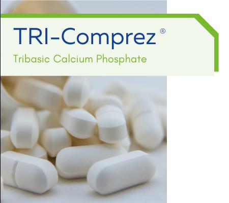 TRI-Comprez: Tribasic Calcium Phosphate