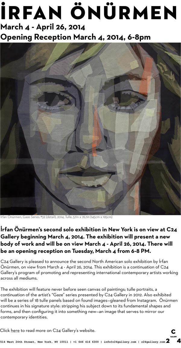 İrfan Önürmen Solo Exhibition, Opening March 4, 6-8PM