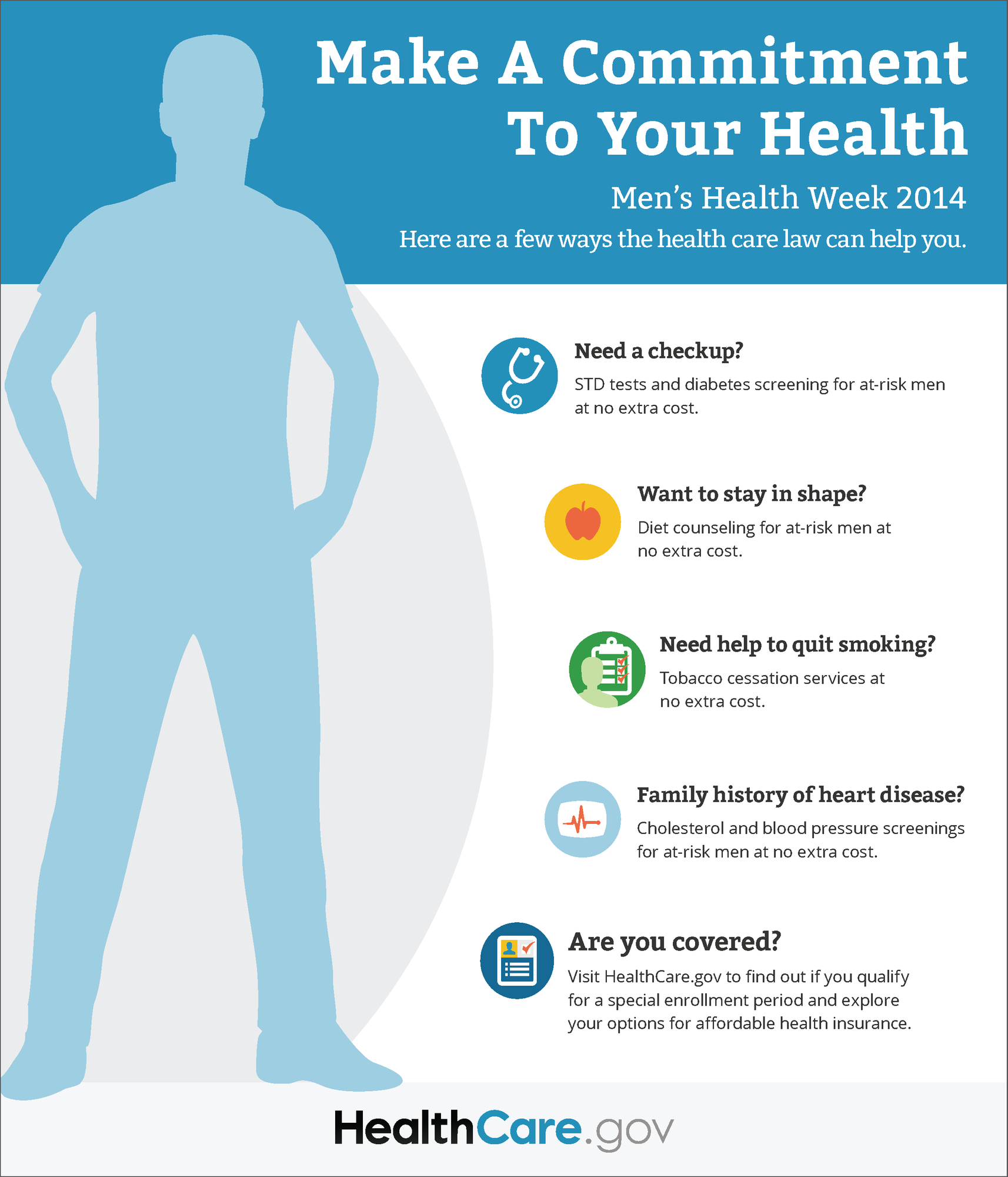 Make A Commitment To Your Health Infographic