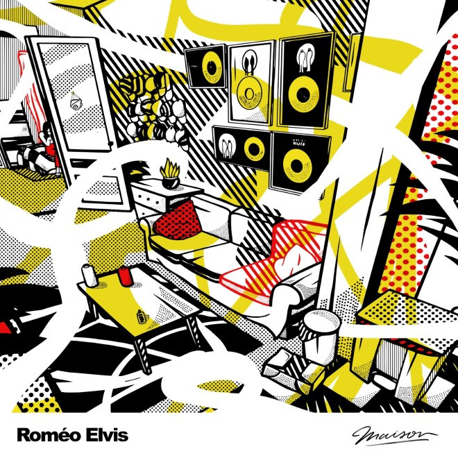 Cover EP Roméo Elvis