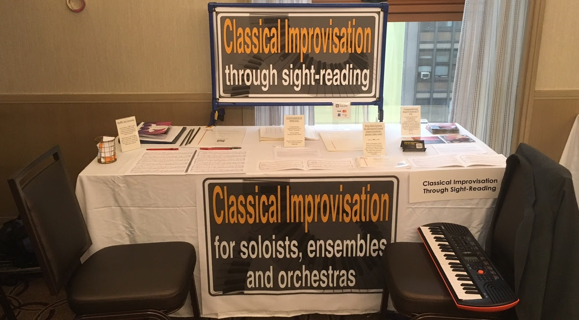Booth at 2017 CMA Conference