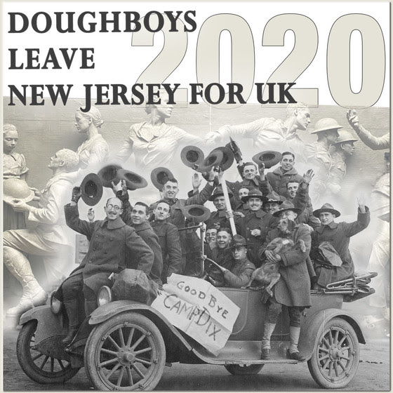 Doughboys leave NJ for UK poster