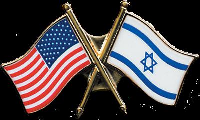 FREE U.S.-Israel flap pin