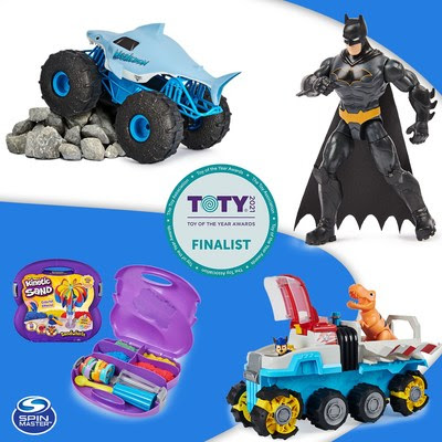 Spin Master Receives Five Toy of the Year Nominations (CNW Group/Spin Master)