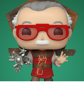Pop! Icons: Stan Lee in Ragnarok Outfit