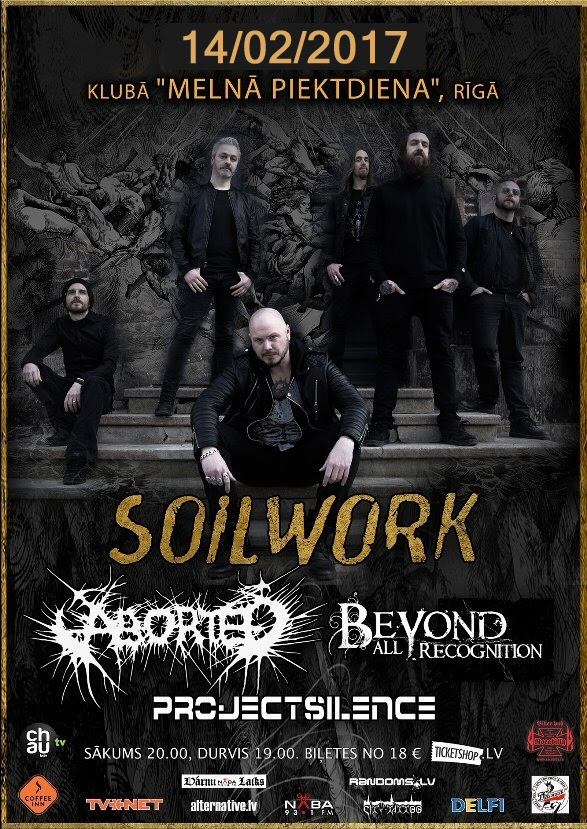 BEYOND ALL RECOGNITION, SOILWORK,ABORTED