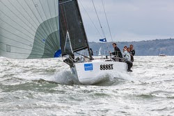 J/88 sailing Hamble Winter Series