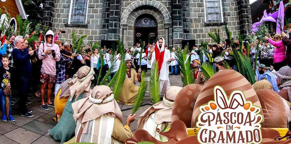 Feriado Semana Santa com Gramado Aleluia