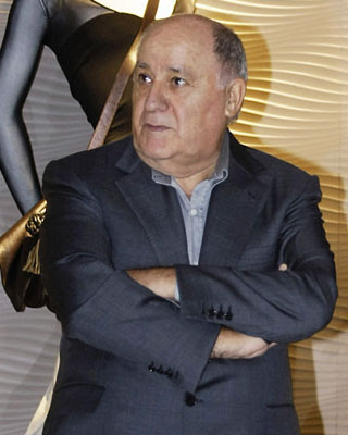 El empresario gallego Amancio Ortega, fundador del grupo Inditex.