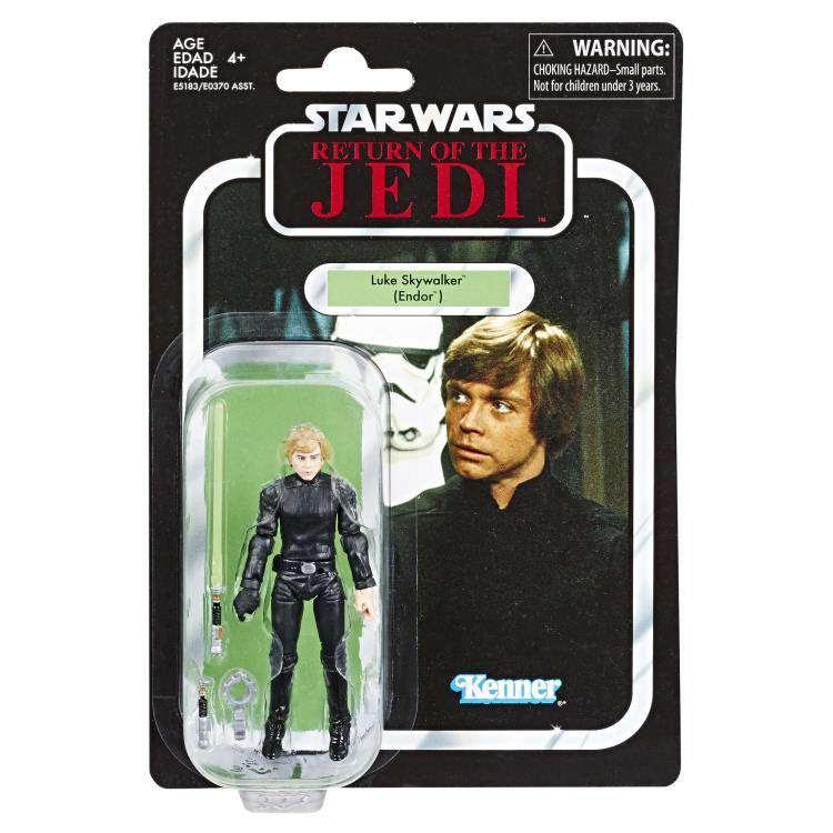 Image of Star Wars The Vintage Collection Action Figures Wave 5 - Luke Skywalker (Jedi Knight)