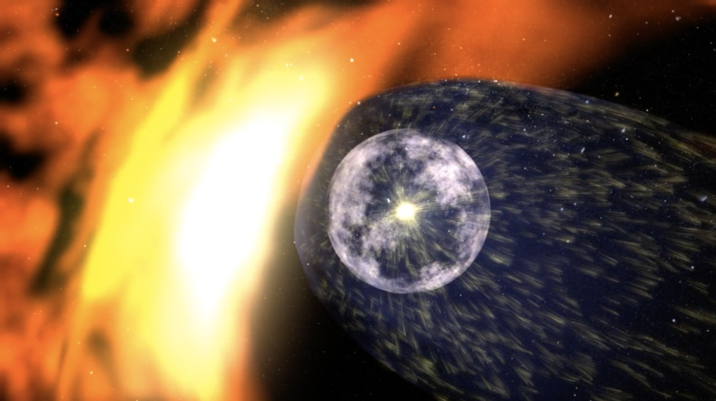 There's a Violent Battle Between Solar Wind and Cosmic Rays, and Voyager 2 Just Passed Through it