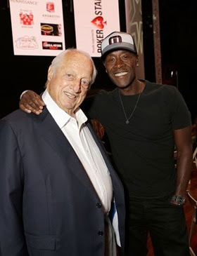 Tommy Lasorda and Don Cheadle attended the Los Angeles Police Memorial Foundation Celebrity Poker Tournament with PokerStars Helping Hands at The Avalon