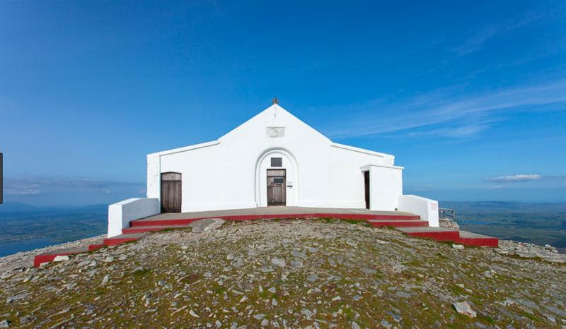Chapel at Croagh Patrick