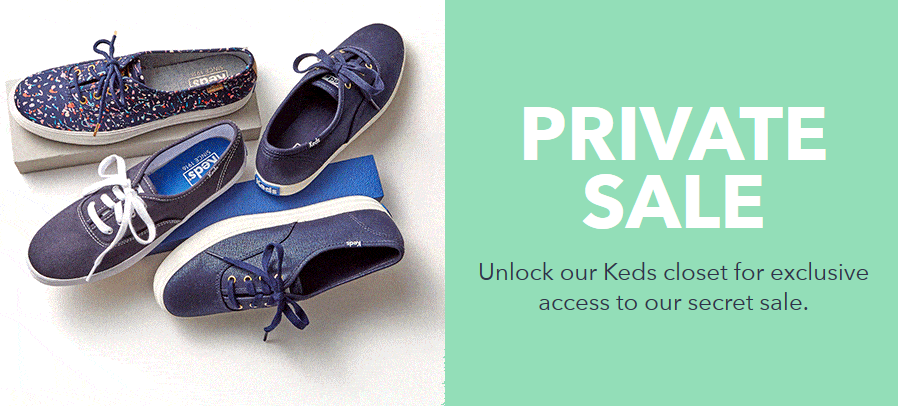 Save Up to 70% Off Select Keds...
