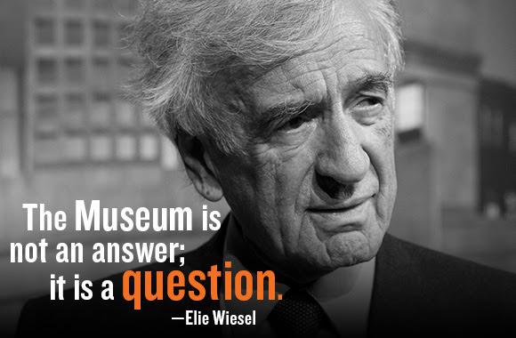 Museum founder Elie Wiesel