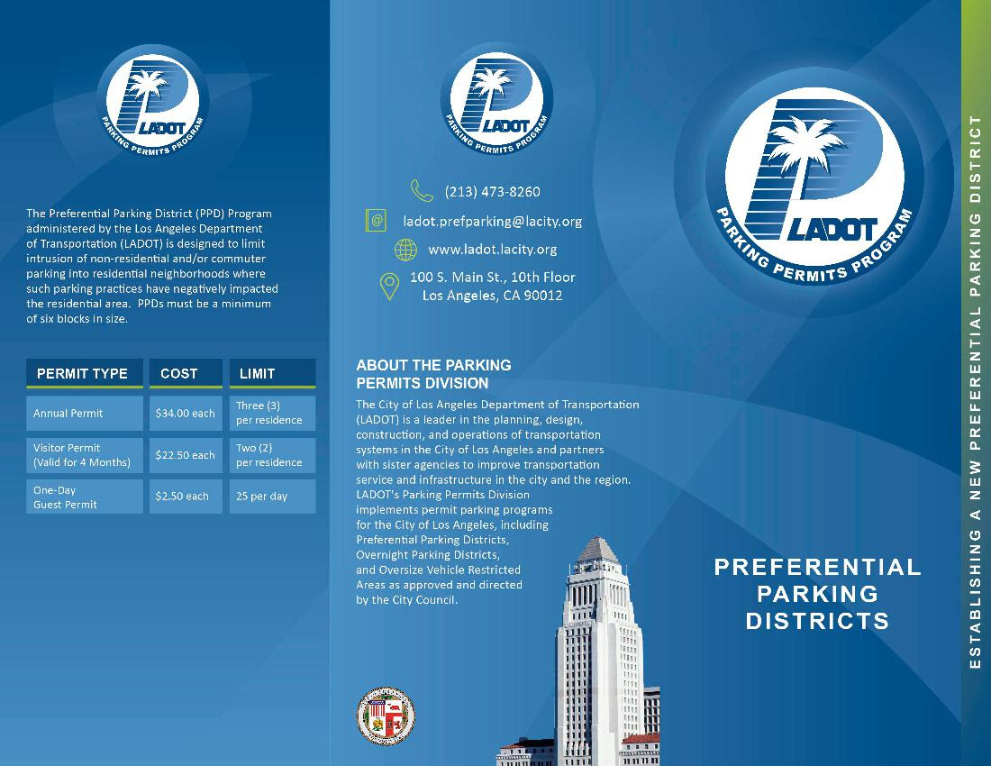 Preferential Parking Dist English Page 1