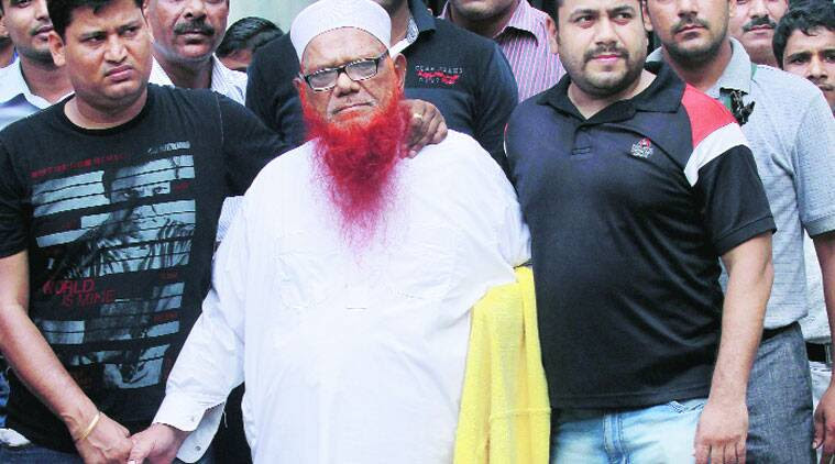 Abdul Karim Tunda after his arrest by Delhi police in 2013. (Source: File photo)