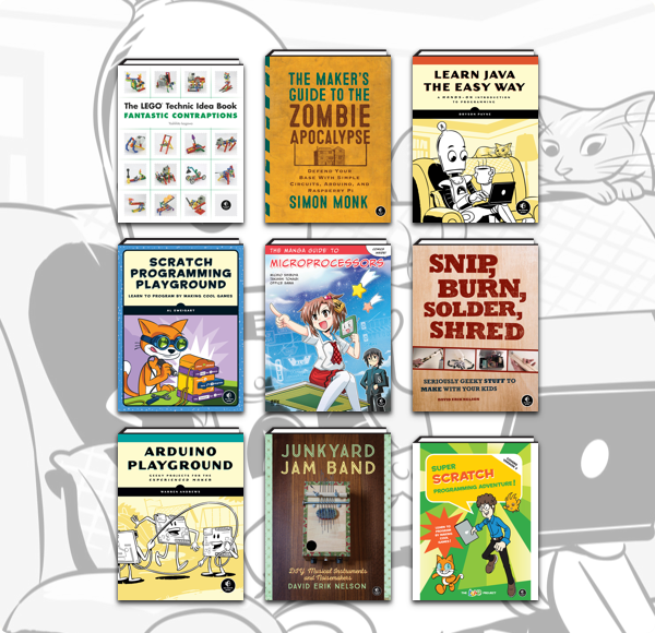 Humble Book Bundle: Makerspace by No Starch Press