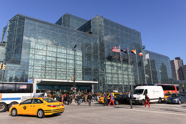 The Jacob J. Javits Convention Center in Manhattan.