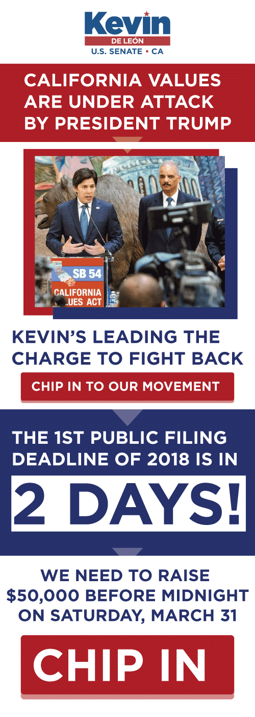 Chip in before our critical FEC deadline on March 31