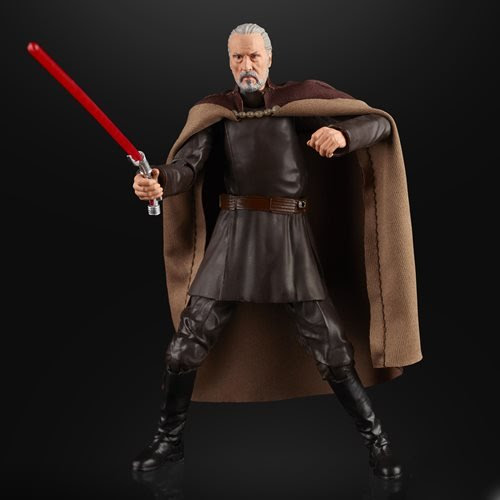Image of Star Wars The Black Series Count Dooku 6-Inch Action Figure