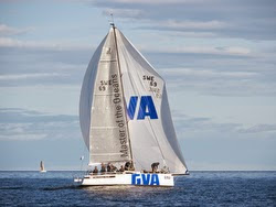 J/111 BLUR sailing off Norway